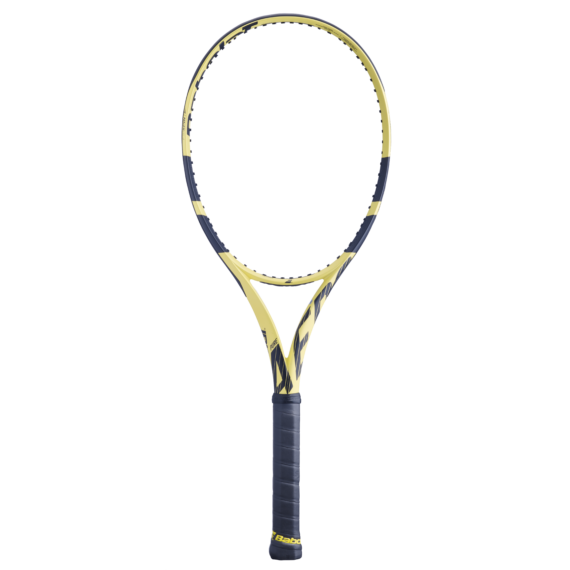 Pure Aero + tenisová raketa, no strun