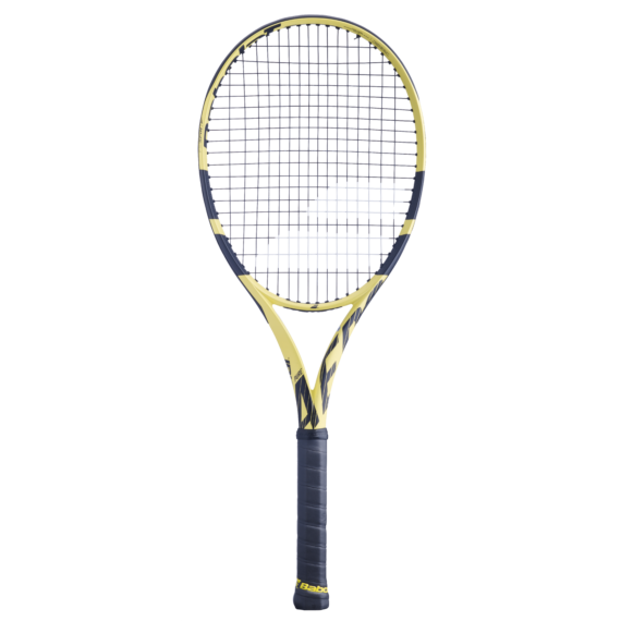 Pure Aero + tenisová raketa, strun